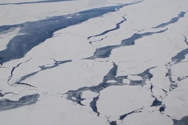 La NASA considera un sector de la Antártida en proceso de colapso