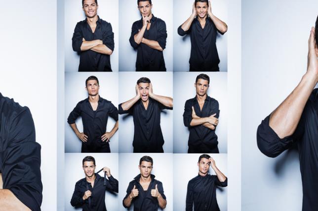 Cristiano ronaldo de la ropa interior al dise o de camisas para hombres - Ropa interior real madrid ...